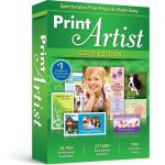 Print artist gold card making software