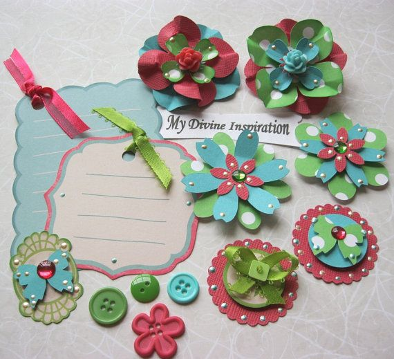 Card making embellishments guide