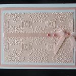 How to do card embossing