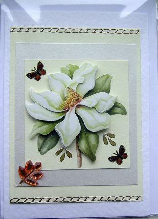 How to Decoupage card