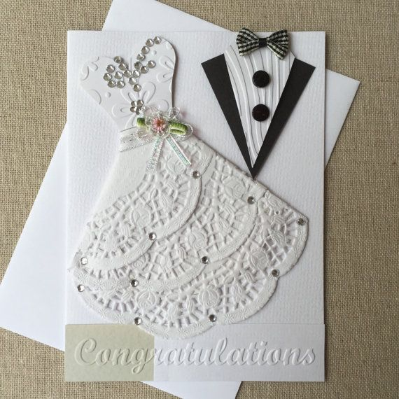 Wedding card ideas for handmade cards and card making
