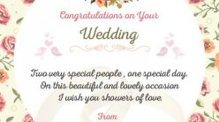 Wedding card message happy wedding day and even happier life wedding card messages and wishes m4hsunfo