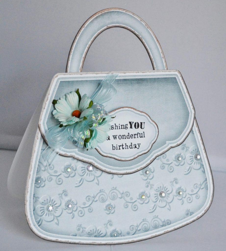 Handbag card