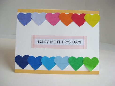 how to make 3d mothers day cards